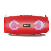 Loa bluetooth Stereo KIMISO KMS-222 hỗ trợ FM/AUX/USB/TF - kèm dây đeo tiện dụng (màu ngẫu nhiên) Hàng Nhập Khẩu
