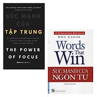 Combo Sách: Sức Mạnh Của Ngôn Từ, Sức Mạnh Của Tập Trung