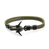 Airplane Anchor Bracelets Charm Rope 550 Paracord Bracelet Sport Hooks Jewelry