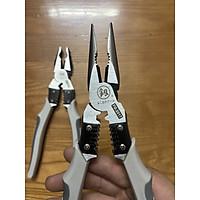 Kìm đa năng: mở ốc, bấm Cos, tuốt dây điện, cắt sợi thép