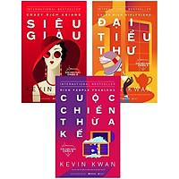 Combo Bí Mật Giới Siêu Giàu ( Giới Siêu Giàu Châu Á 1: Siêu Giàu + Giới Siêu Giàu Châu Á 2: Đại Tiểu Thư + Giới Siêu Giàu Châu Á 3: Cuộc Chiến Thừa Kế) tặng kèm bookmark Sáng Tạo