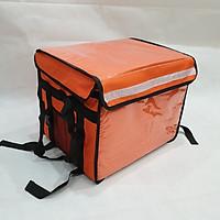 Túi giữ nhiệt giao hàng 44L màu cam