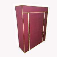 Vỏ( áo chụp ngoài) tủ vải quần áo 2 ( kt: dài x rộng x sâu: 160cmx100cmx45cm) bằng vải không dệt