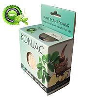 Bông rửa mặt Konjac Pure - ekoko Konjac spone