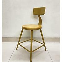 Ghế Cafe có lưng dựa thoải mái 48 x 48 x72 cm
