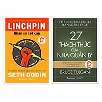 Combo Sách Quản Trị Nhân Lực: Nhân Sự Cốt Cán + 27 Thách Thức Của Nhà Quản Lý