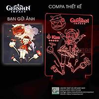 Đèn Ngủ Genshin Impact Klee Type 3