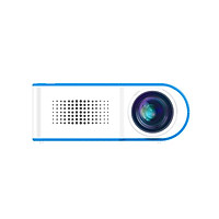YG210 Mini Portable Projector Video Digital HD 1080P LCD 18W Energy Saving Projectors for Home Cinema Theater