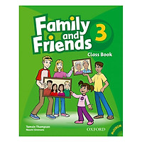 Family And Friends (Bre) (1 Ed.) 3: Class Book And Multirom Pack