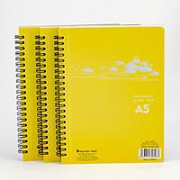 Bộ 3 cuốn sổ xé A5 lò xo -  A5XR205