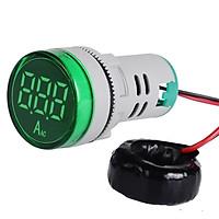 Màn Hình Ampe Kế Điện Tử Đèn LED (22mm) (0-100A)