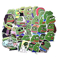 Sticker ếch xanh Pepe Set 30 ảnh siêu bựa