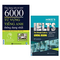 Combo (2 Cuốn): Ứng Dụng Siêu Trí Nhớ - 6000 Từ Vựng Tiếng Anh Thông Dụng Nhất (Tái Bản) + The Ultimate Guide To General Reading / Cẩm Nang Học Tiếng Anh - Tủ Sách Học Tốt