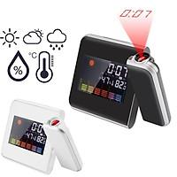 Đồng hồ báo thức đa chức năng, máy chiếu giờ lên tường, đo nhiệt độ, độ ẩm, lịch vạn niên - MSP8190
