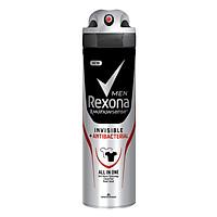 Xịt Khử Mùi Dành cho Nam Rexona Invisible Antibacterial (150ml)