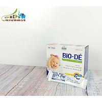 03 HỘP siro ăn ngon cho bé BIO-DÉ (20 TÚI X 10ml), hỗ trợ cho trẻ biếng ăn, hay ốm, giúp cải thiện tận gốc khả năng tiêu hóa ở trẻ, bổ máu, tăng cường đề kháng, bé ăn ngon hơn, giúp tăng cân cho bé