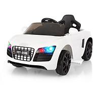 Ô tô xe điện đồ chơi cho bé AUDI FEY5189 tự lái và điều khiển từ xa (Đỏ-Trắng-Hồng)