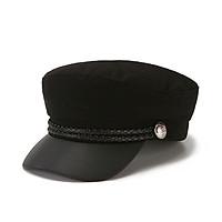 Mũ nồi da - nón beret thuỷ thủ thời trang, phong cách Hàn