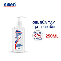 Aiken Gel rửa tay Sạch khuẩn 250ml Dạng vòi