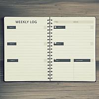 Sổ tay bullet journal cho người bắt đầu, kẻ sẵn future log, monthly log, weekly log, habit tracker