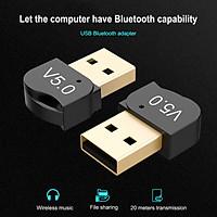 USB Bluetooth 5.0 Adapter Dongle for PC Windows 10/8/8.1 Desktop Headphone