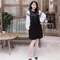 Váy bầu cao cấpcam kết y hìnhchất lụa chéo thái,mát, mềm mịn, thấm hút mồ hôifree size (43~dưới 70 kg)