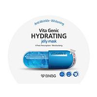 Combo 5 Mặt nạ giấy cấp nước dưỡng ẩm da mềm mượt, căng bóng Banobagi Vita Genic Hydrating Jelly Mask (Vitamin E) 30ml x5