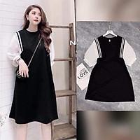 Váy bầu cao cấpthiết kế sang chảnh mặc đi làm đi chơi đều đượcFree size 45~ 67kg