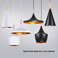 LED Nordic Aluminium Pendant Lamp A+B+C Music Bar Cafe Restaurant Lights Set