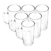 Bộ ly 6 cái Union Glass 376 Ly quai 400 ml  không ngã màu,  sản xuất Thái Lan