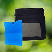 Bộ 01 túi giữ nhiệt túi vải OXFORD - PEVA - và 01 Đá khô size lớn