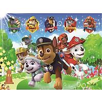 Tranh ghép gỗ 100 mảnh hộp sắt - Đội chó cứu hộ
