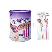 Sữa bột PediaSure Complete Balandced Nutrition Úc (850g) cho trẻ từ 1 đến 10 tuổi  + Quà tặng hãng Ống hút hình động vật (1 cái, ngẫu nhiên)