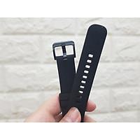 Dây đeo silicon màu size 20mm dành cho Gear S2, Galaxy watch 42mm ,Gear Sport, Amazfit... - Hàng nhập khẩu