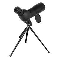 Beileshi Spotting Scope with Tripod HD Monocular Portable 15X-45X Zoom Eyepiece Straight or Angled for Bird Watching,