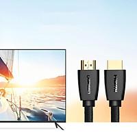 Cáp HDMI 2m chuẩn 2.0 Chính hãng Ugreen 40410 hỗ trợ 3D, 4K