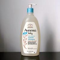 Sữa Tắm Gội Toàn Thân cho bé Aveeno Baby Daily Moisture Wash And Shampoo 532ml