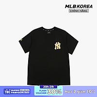 MLB - Áo thun cổ tròn ngắn tay PLAY Back Pixel Logo 31TSN5131-50L