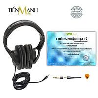 [Chính Hãng Japan] Tai Nghe Kiểm Âm Audio Technica ATH-M20X Studio Monitor Headphones Professional ATH M20X - Kèm dây line 3m, đầu chuyển 3.5-6.3mm, Móng Gẩy DreamMaker