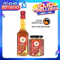 Combo Mật ong  rừng Phương Nam 100% mật ong chín Honimore 990g