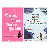 Combo Con Không Ngốc, Con Chỉ Thông Minh Theo Một Cách Khác + Con Cái Tự Giác - Cha Mẹ Yên Tâm (2 quyển)