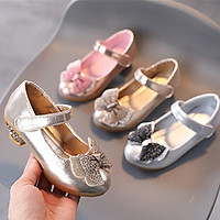 Giày cao gót lấp lánh đế 3cm cho bé gái b307