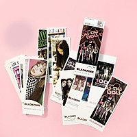 Bộ 36 tấm ảnh thẻ bookmark BlackPink mẫu mới