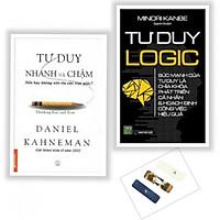 Combo Sách Kinh Tế Cực Hay: Tư Duy Nhanh Và Chậm + Tư Duy Logic ( Tặng Bookmark Phương Đông)