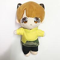 Doll Suga full anpanman búp bê BTS 20cm có mông phụ kiện dành cho doll nhóm nhạc idol, anime chibi tặng ảnh thiết kế vcone