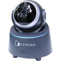 Camera wifi trong nhà Carecam CHY200 2.0MP Full HD, xoay 360 độ, đàm thoại 2 chiều, hỗ trợ thẻ nhớ lên đến 128G, Cảnh báo chống trộm, nhỏ gọn dễ lắp đặt – Hàng nhập khẩu