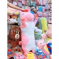 Gối ôm gấu bông Unicorn hồng 1m2