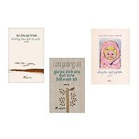 Combo sách văn học Việt Nam: Chuyện ngõ nghèo + Gió và tìn yêu thổi trên đất nước tôi + Không bao giờ là cuối (tặng kèm bookmark)