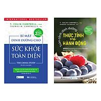 Combo 2 Cuốn Sách Dinh Dưỡng Hay: Bí Mật Dinh Dưỡng Cho Sức Khỏe Toàn Diện ( Tái Bản Lần Thứ 2 ) + Toàn Cảnh Dinh Dưỡng Thức Tỉnh Và Hành Động