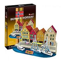 Mô Hình Giấy Cubic Fun: Bergen [C183h]